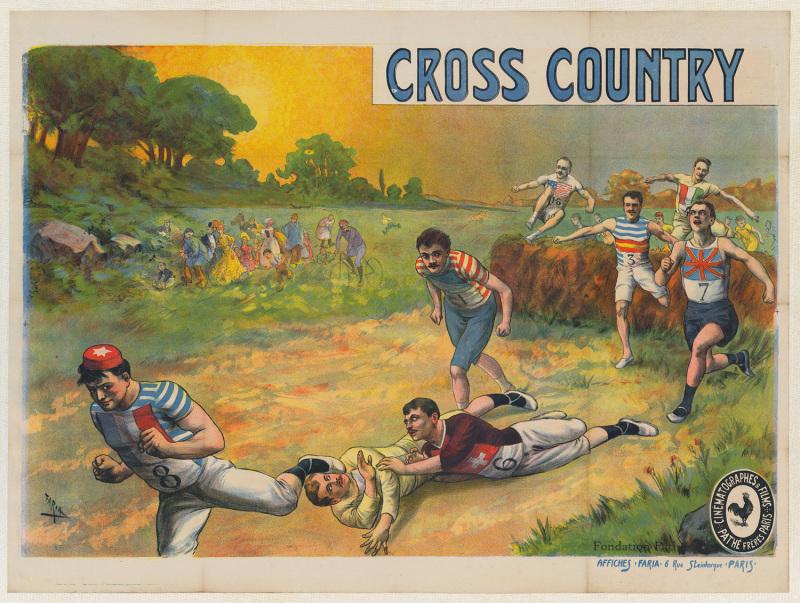 Cross Country, bande dessinée, Sport et cinéma, Fondation Pathé