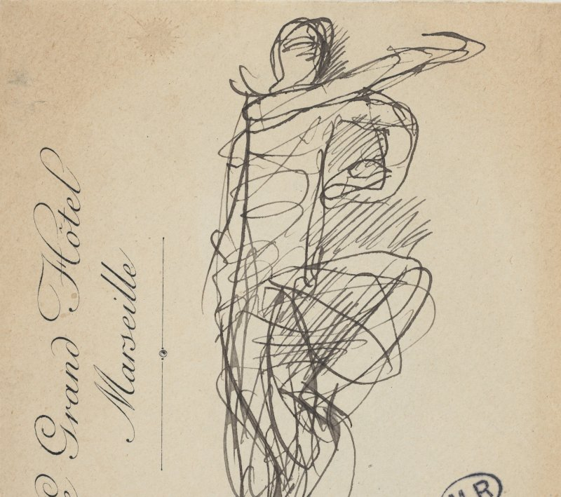 03. Rodin et la danse - Danseuse Cambodgienne
