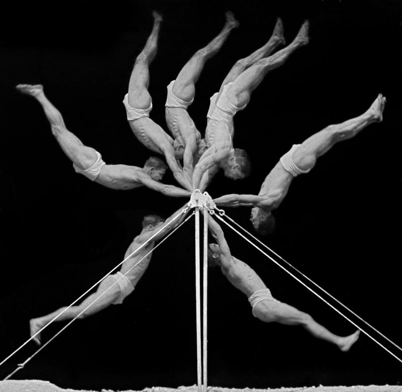 Georges Demeny, chronophotographie, Sport et cinéma, Fondation Pathé 2