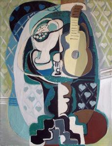 Emil Filla, Nature morte à la guitare, 1929 - Galerie Le Minotaure, Paris - FIAC 2017
