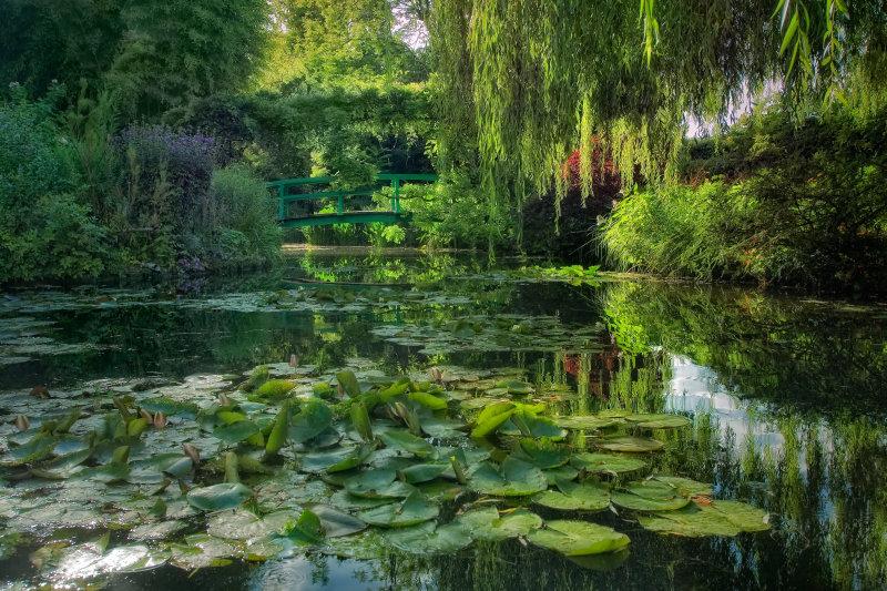 Fondation Claude Monet, jardin et maison