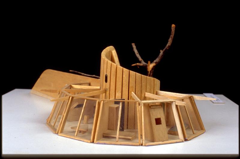 """Maison évolutive """"escargot"""", 1965, Guy Rottier, Centre d'art contemporain Les Tanneries"""