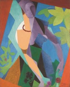 Jean Metzinger, Femme au jardin, 1916 - Galerie Le Minotaure, Paris - FIAC 2017