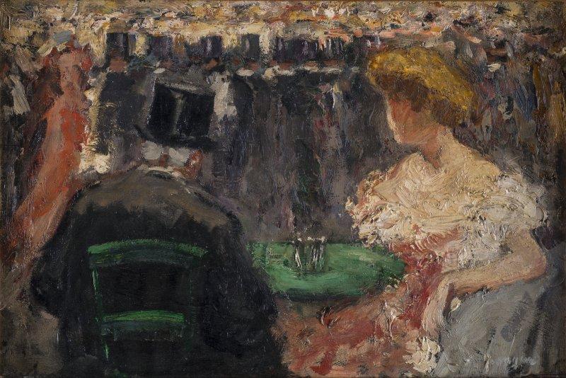 Kees Van Dongen, Moulin rouge ou Le Promenoir, vers 1904