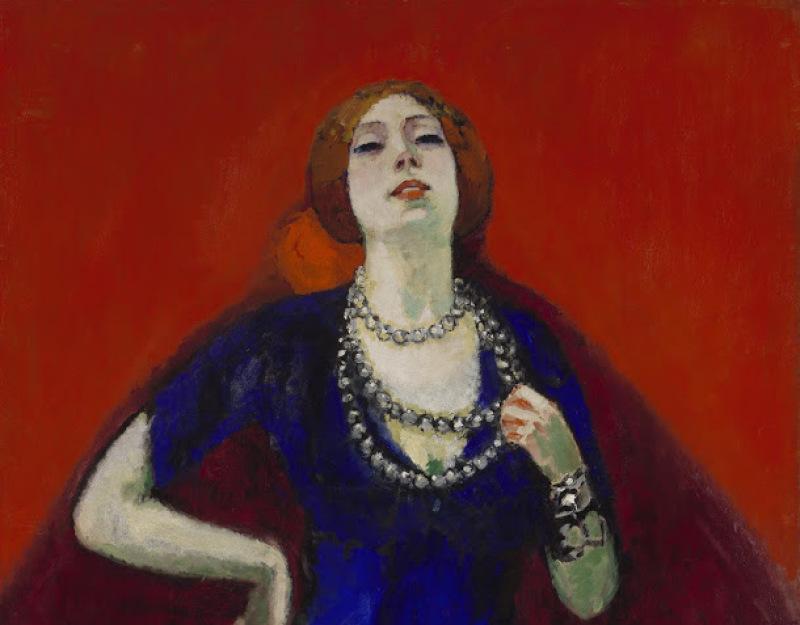 Kees van Dongen, The Blue Dress, 1911