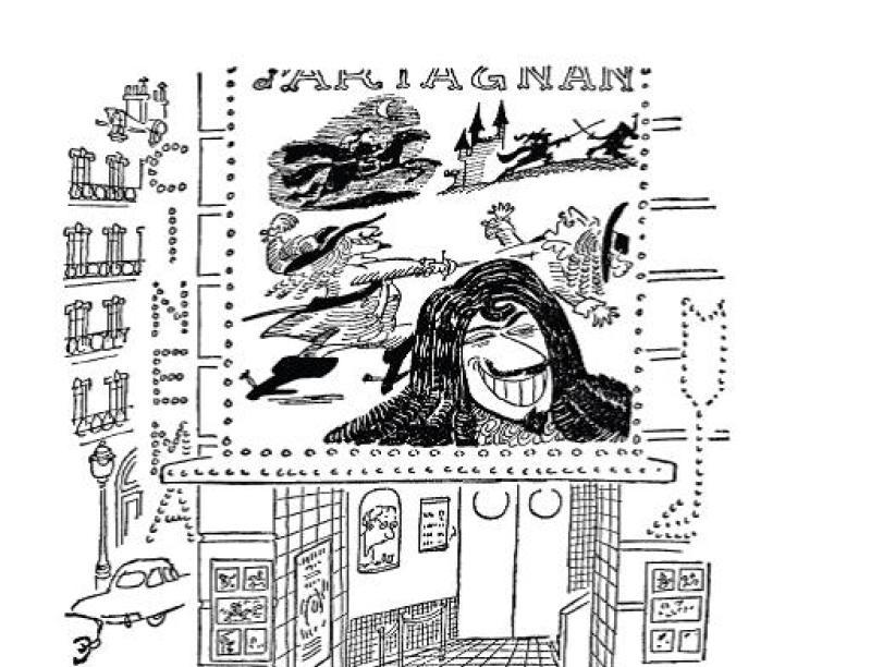 Jean-Jacques Sempé et René Goscinny, Le PetitNicolas, « La Séance de cinéma » dans Pilote no 1, 1959, Le cinéma de Goscinny, Cinémathèque Française