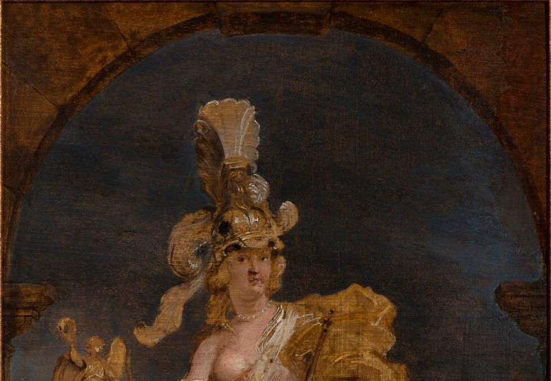 Marie de Médicis en Bellone, Rubens, expo in the city