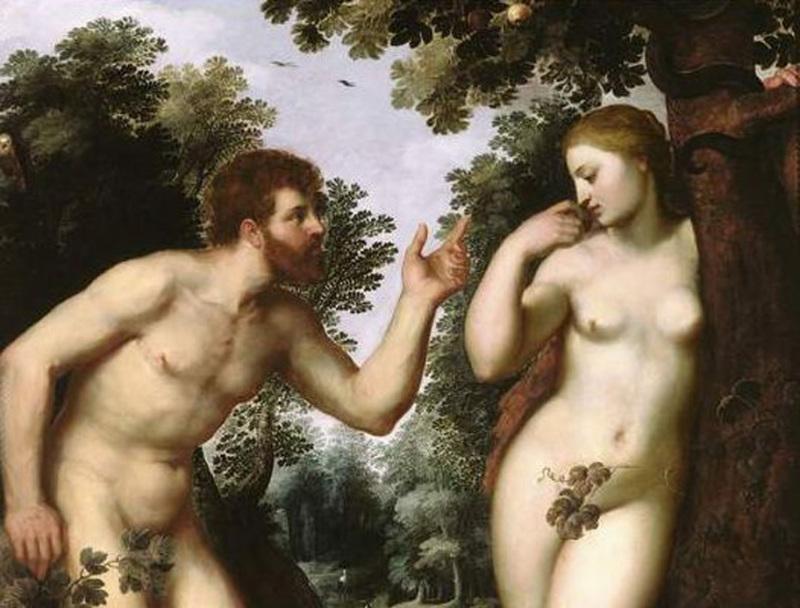 Pieter Paul Rubens, Adam et Eve, 1598-1600 - Rubenshuis, Antwerp