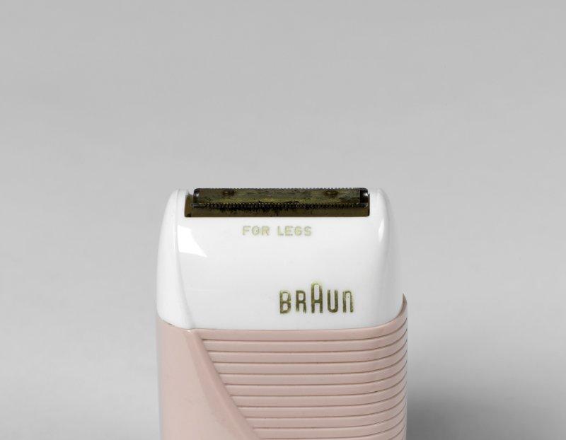 Rasoir Braun pour femme Fabriqué par Braun Kronberg im Taunus Vers 1950 incrusté/polystyrène
