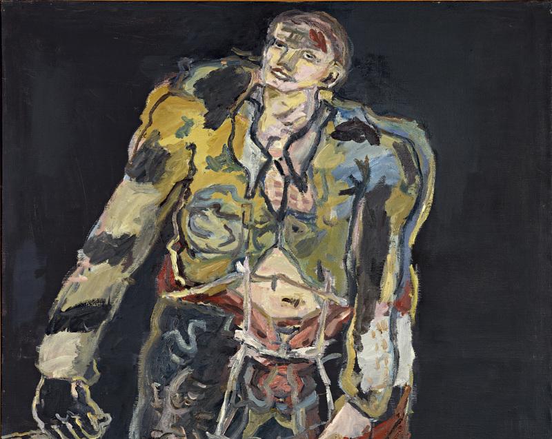 Georg Baselitz , Rebelle (Rebell), 1965