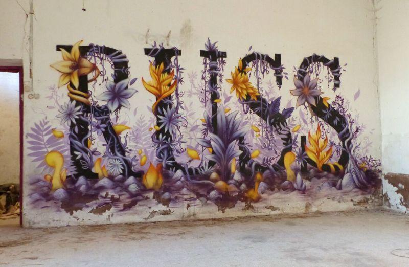 Russ, Mural Wild Style