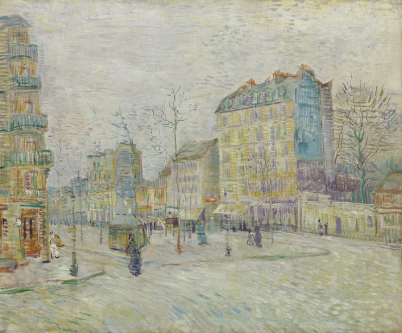 Vincent van Gogh, Boulevard de Clichy, 1887