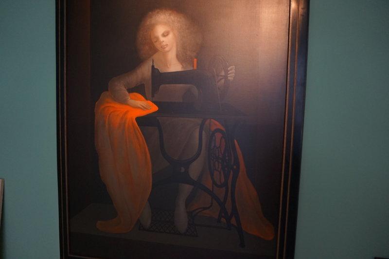 Vue de l'exposition Leonor Fini - Galerie Minsky