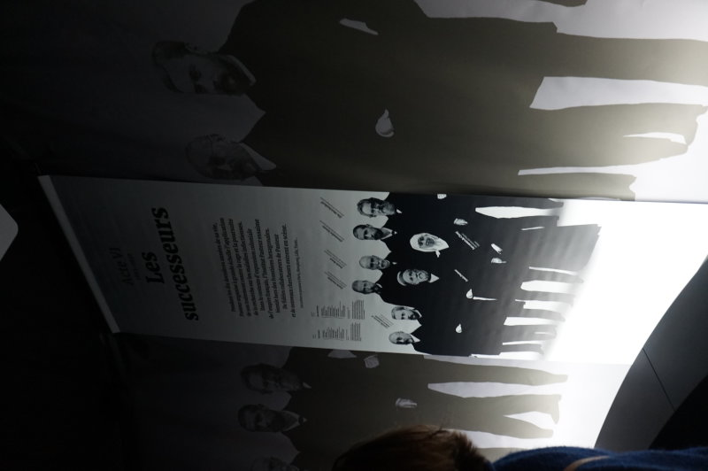 Vue de l'exposition Pasteur au Palais de la Découverte