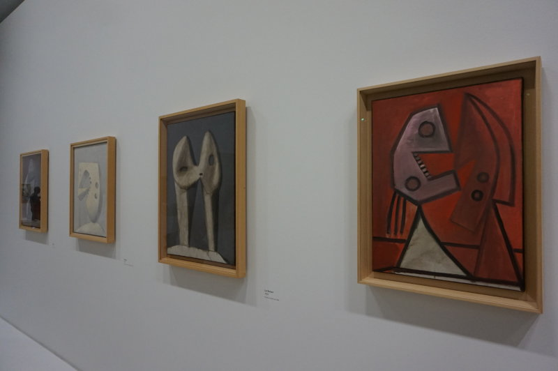 Vue de l'exposition Picasso - Fonds Hélène et Edouard Leclerc