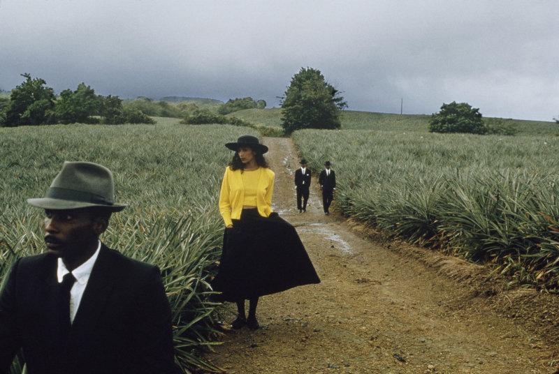 © Françoise Huguier, Retour d'enterrement, Marie-Claire Bis,1983