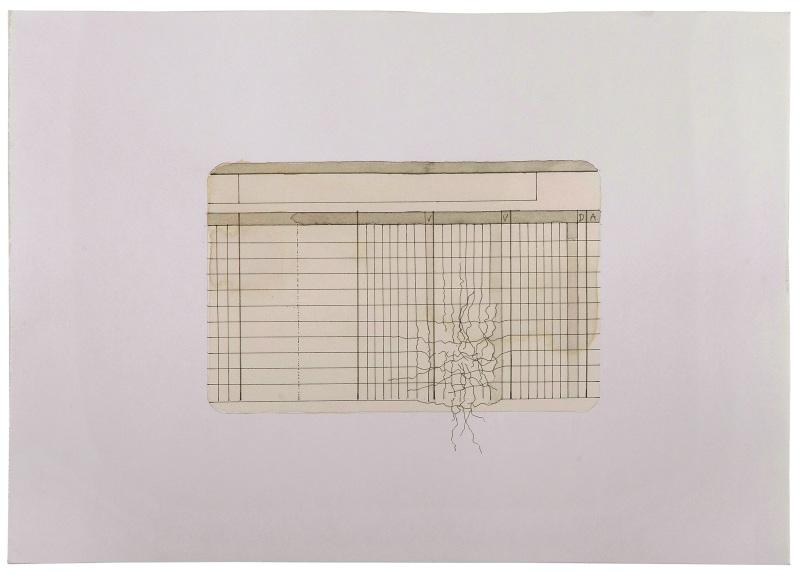 Contables (feuille de compta, agenda), 2001, Johanna Calle, Maison de l'Amérique Latine