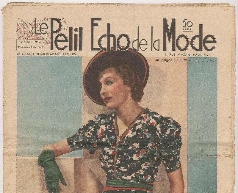 Le Petit Echo de la Mode 1938