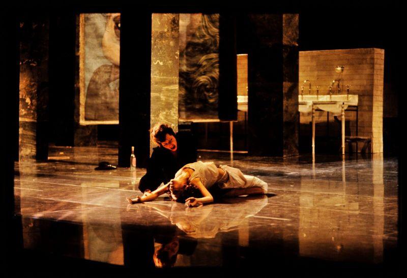 Lulu à l'Opéra de Paris, 1979 Teresa Stratas (Lulu) et Franz Mazura (Dr Schön) , Mettre en scène l'opéra, BnF