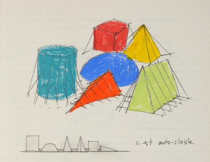 Patrick Bouchain, Centre Pompidou Mobile, 2008-2009, Marcher dans le rêve d'un autre, FRAC Centre Val-de-Loire