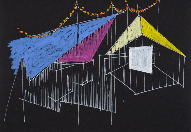 Patrick Bouchain, Centre Pompidou Mobile, s.d., Marcher dans le rêve d'un autre, FRAC Centre Val-de-Loire (6)