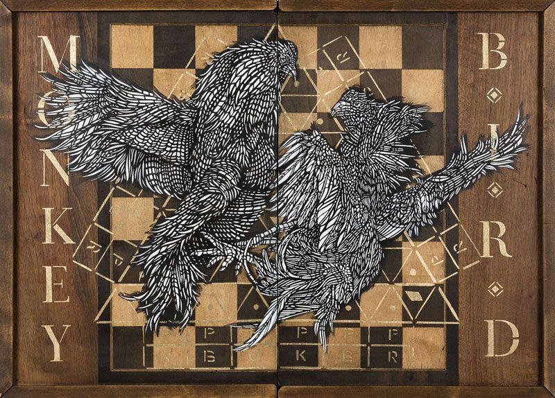 Monkeybird, Galerie Brugier-Rigail