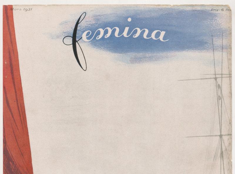 Premiers modèles de printemps Jacques Demachy Fémina 1931