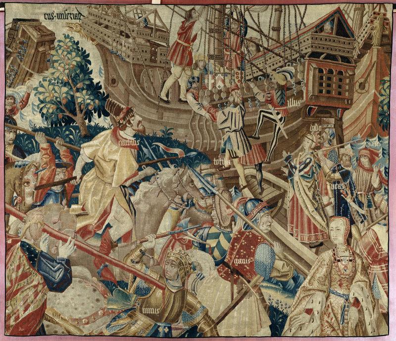 Bataille et embarquement Pays-Bas du sud, premier quart du XVIe siècle