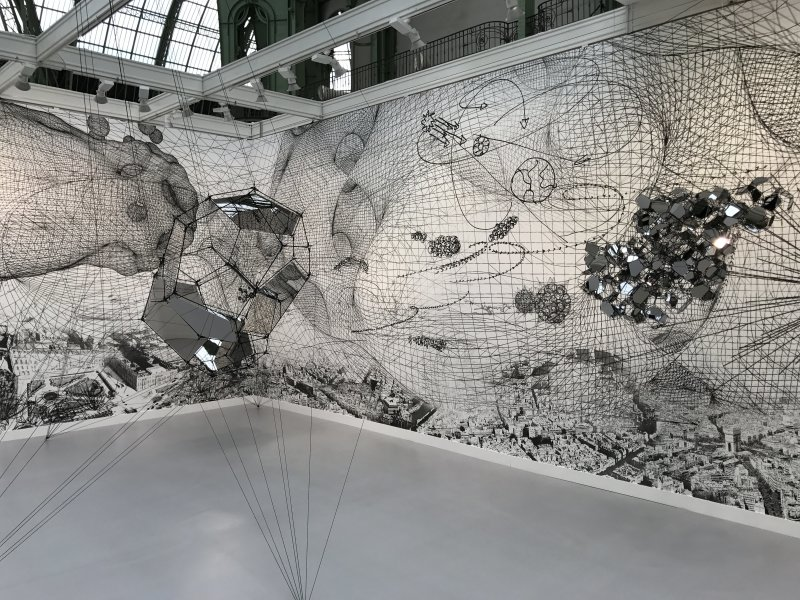 Vue de la FIAC -Grand Palais