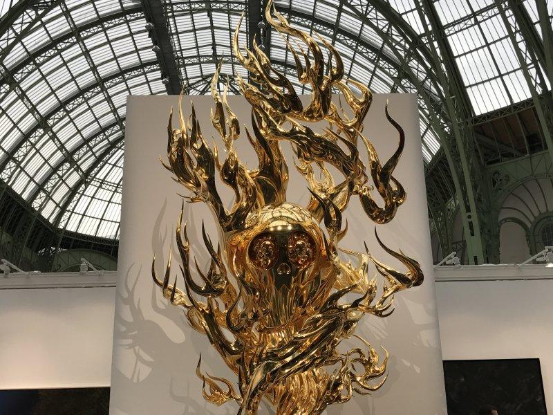 Vue de la FIAC Grand Palais