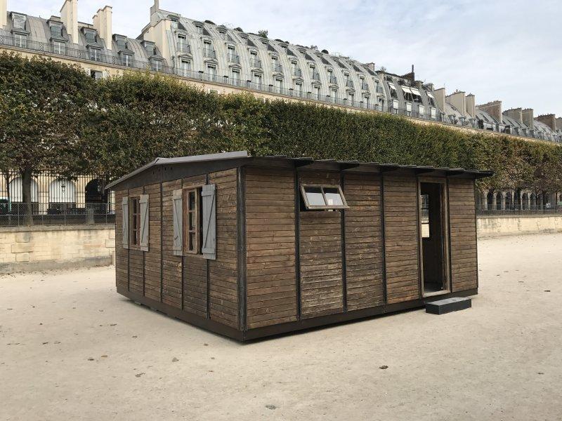 Vue de la FIAC, Jardin des Tuileries