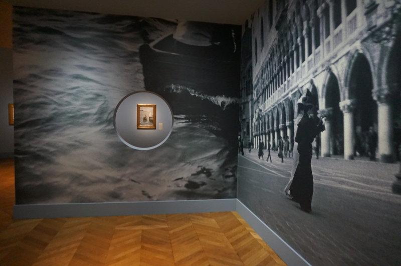 Vue de l'exposition Anders Zorn au Petit Palais
