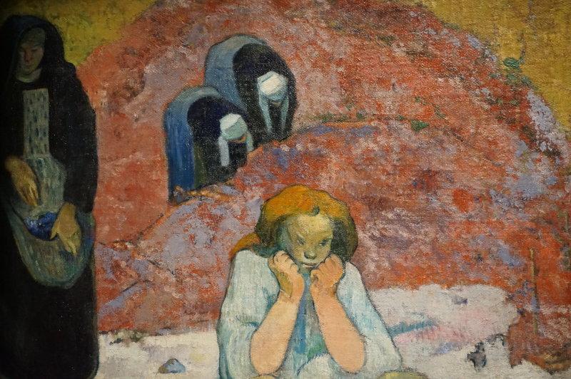 Vue de l'exposition Gauguin au Grand Palais