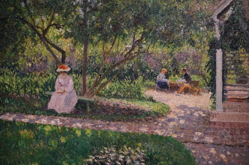 Vue de l'exposition Le Jardin secret des Hansen, la collection Ordrupgaard - Musée Jacquemart André