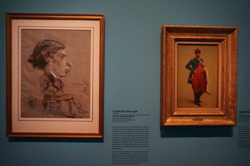 Vue de l'exposition Monet Collectionneur - Musée Marmottan Monet