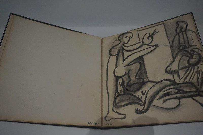 Vue de l'exposition Picasso 1932 - Musée Picasso Paris