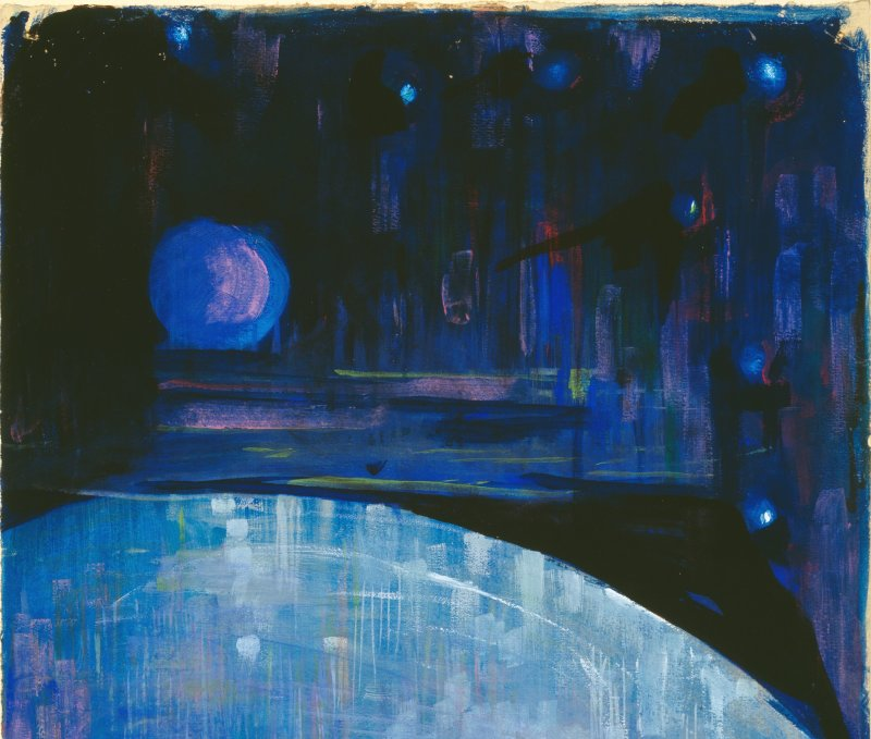 03. Mikalojus Konstantinas Čiurlionis, La Création du monde III