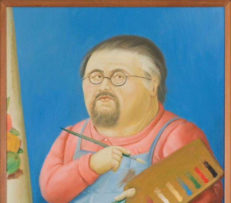 Fernando Botero , Autoportrait - Botero, dialogue avec Picasso à l'Hôtel de Caumont