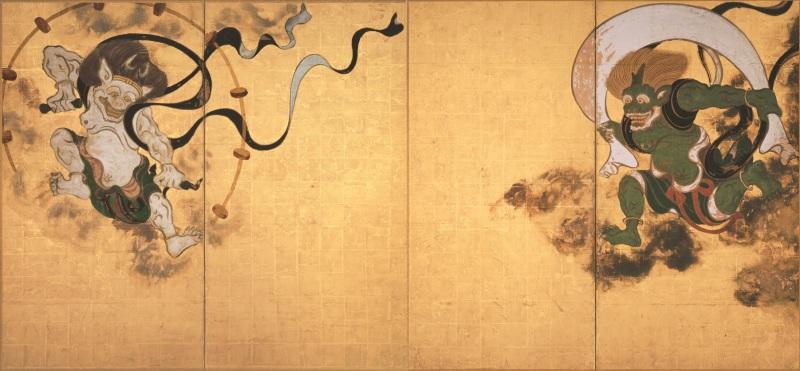 Sotasu, Wind and thunder god