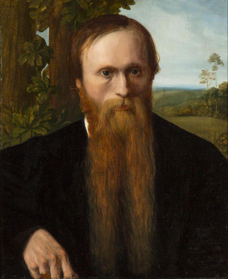 Edward Burne Jones by Alphonse Legros