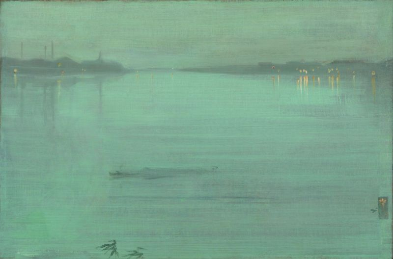 JAM Whistler, Nocturne: Blue and Silver - Chelsea, N03420