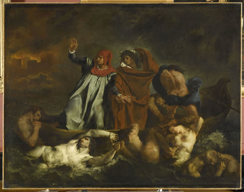 Delacroix Eugène (1798-1863). Paris, musée du Louvre. INV3820.