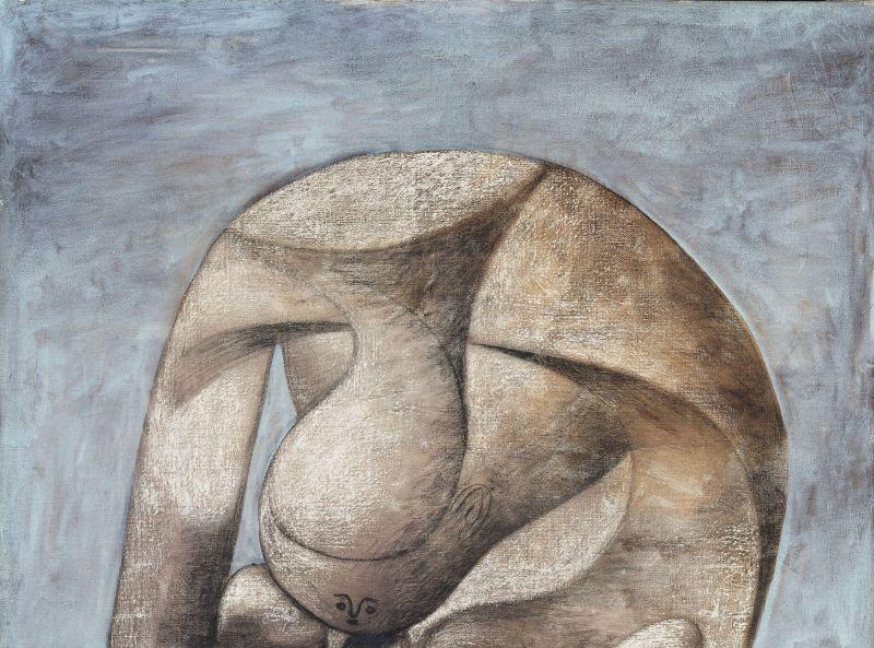 Pablo Picasso, Grande Baigneuse au livre, Collection Peggy Guggenheim, Venise, Italie
