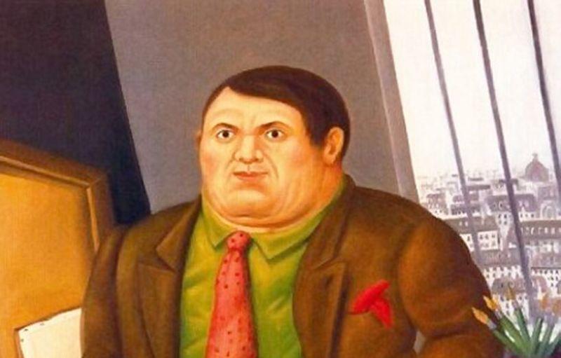 Fernando Botero, Portrait de Picasso - Botero, dialogue avec Picasso à l'Hôtel de Caumont