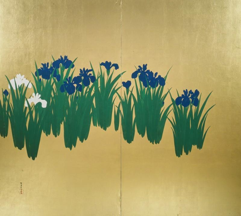 Sekka, Irises