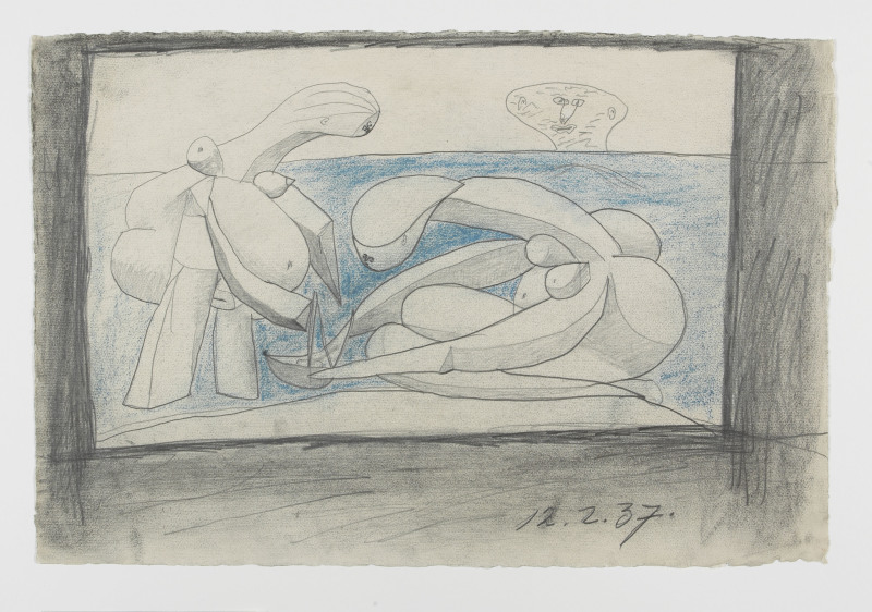 Pablo Picasso, La Baignade, Collection Peggy Guggenheim, Venise, Italie