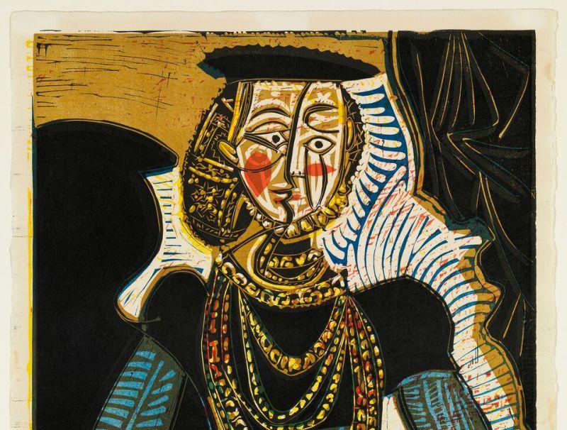 Pablo Picasso Portrait d'une dame d'après Cranach le jeune II - Botero, dialogue avec Picasso à l'Hôtel de Caumont