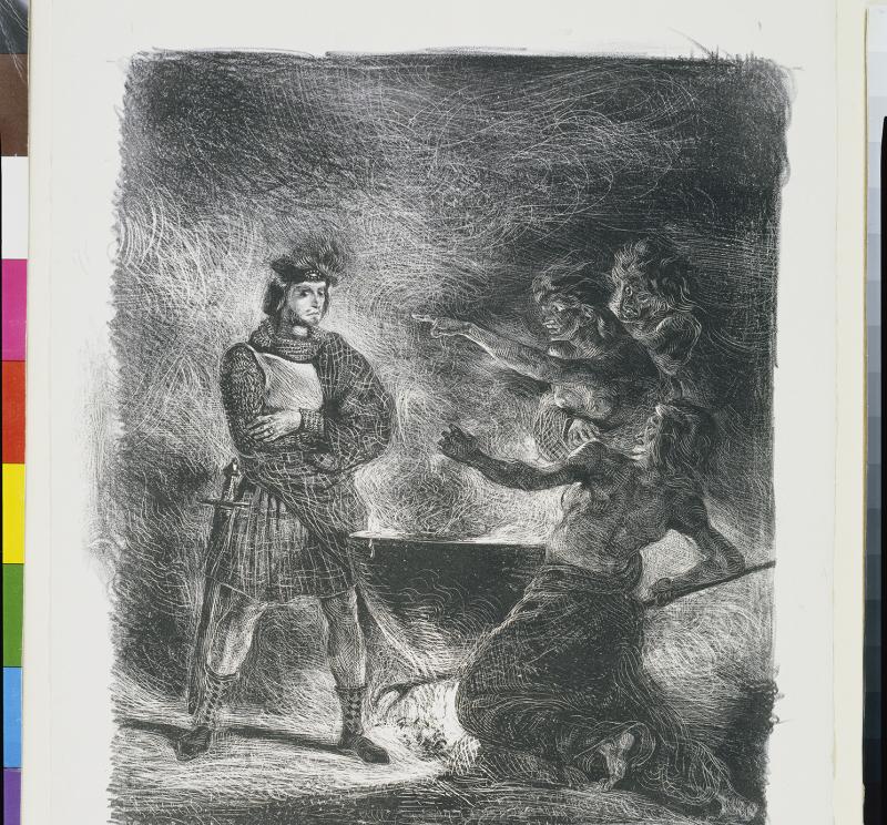 Macbeth und die Hexen. 1825