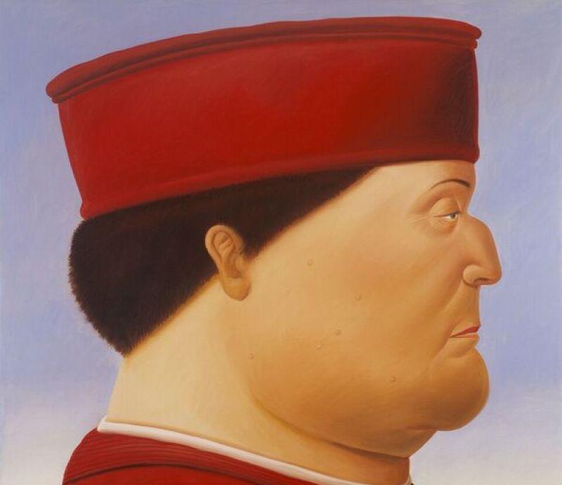 Fernando Boterod, Après Piero della Francesca (Dyptique1) - Botero, dialogue avec Picasso à l'Hôtel de Caumont