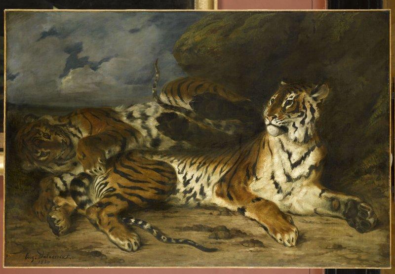 Delacroix Eugène (1798-1863). Paris, musée du Louvre. RF1943.